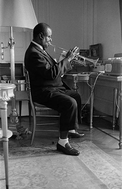 Louis Armstrong In 1959 Wall Art