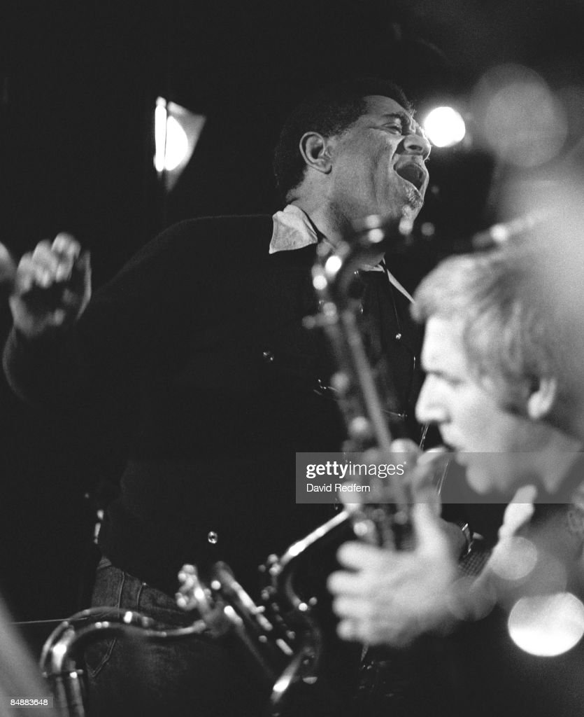 SCOTTS Photo of Dizzy GILLESPIE, performing live onstage
