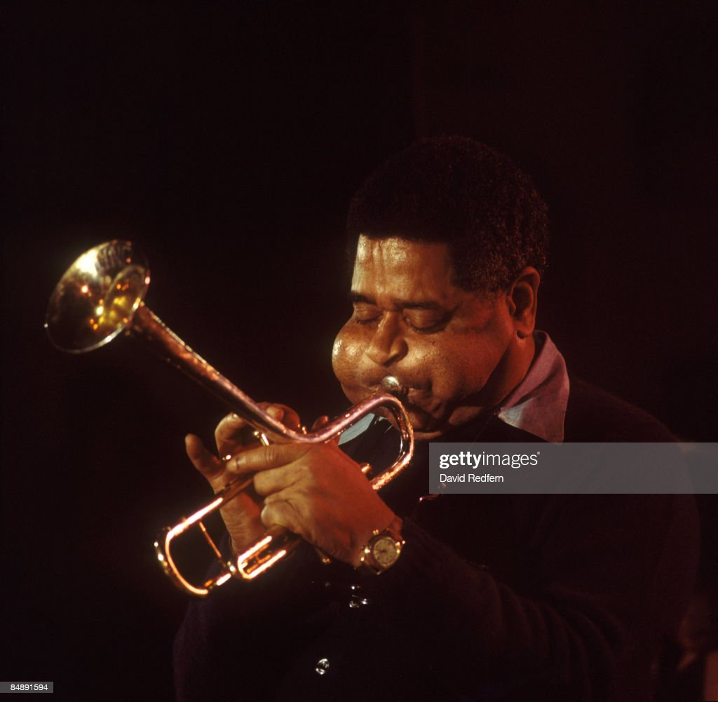 S Photo of Dizzy GILLESPIE, Dizzie Gillespie performing on stage