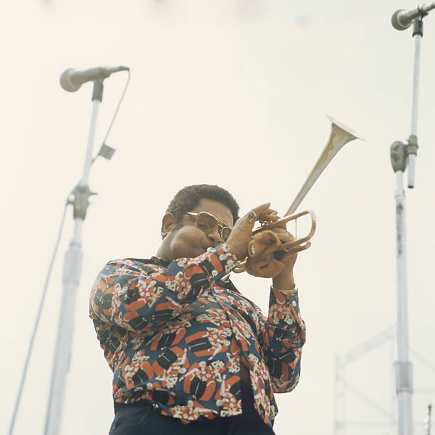 Dizzy Gillespie Performs At Newport Wall Art