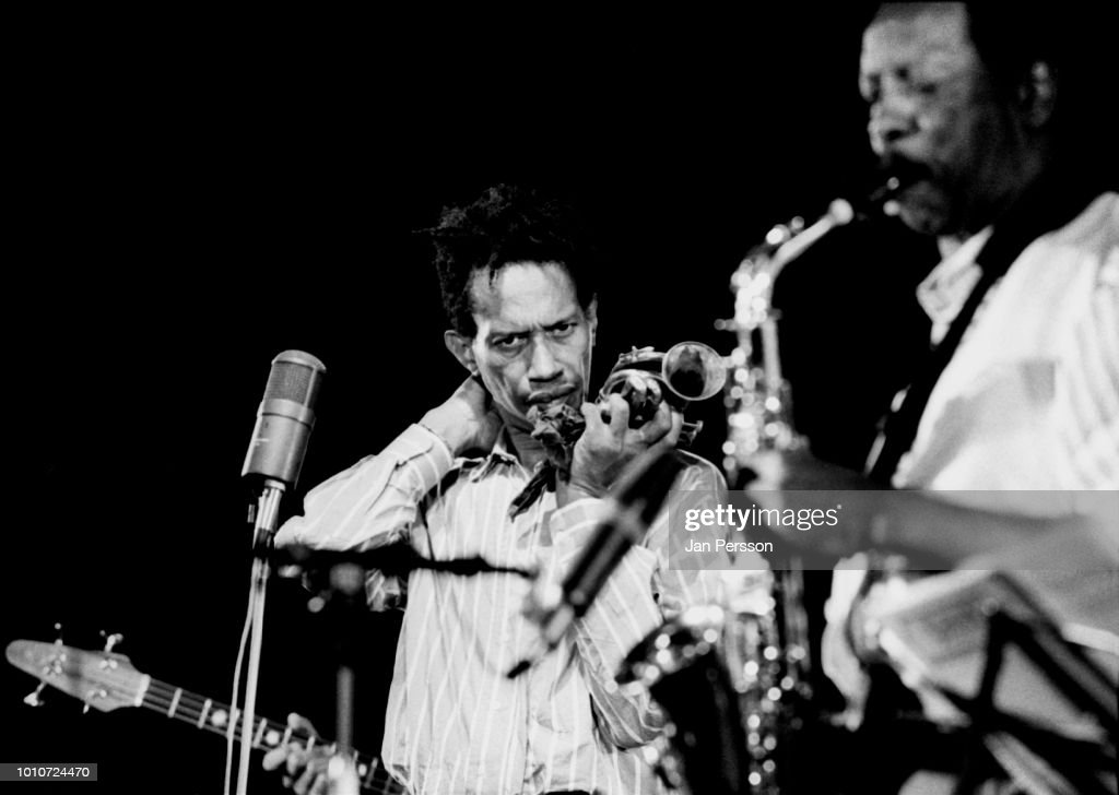 Ornette Coleman And Don Cherry : News Photo