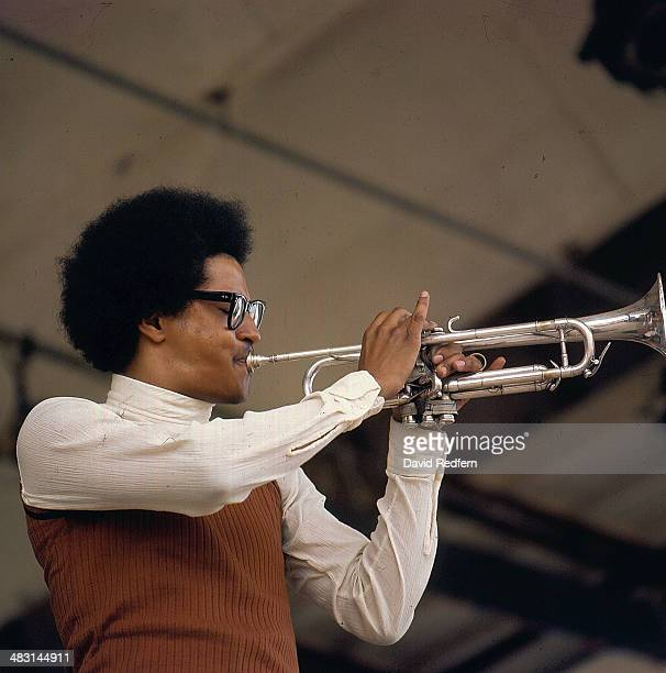 American jazz trumpeter Jimmy Owens performs live on stage at the Newport Jazz Festival in Newport, Rhode Island on 11th July 1970.