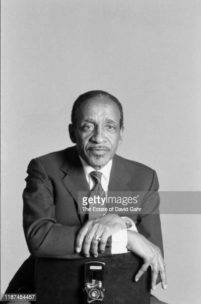 American jazz vibraphonist Milt Jackson poses for a portrait on September 5 1991 in New York City New York Along with his work with jazz giants Woody...