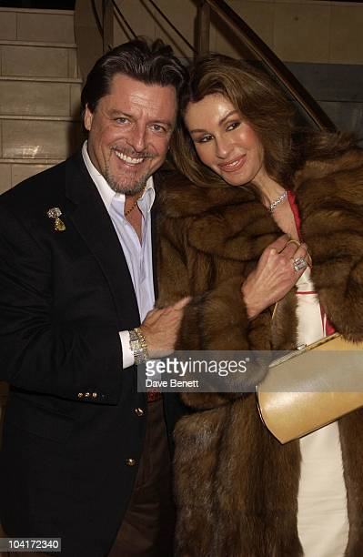 American Jeweller And His Girlfriend With Over 5 Million Dollars On His Wrist Sir Elton John And Sir Terrance Conran Celebrated Ten Years Of...