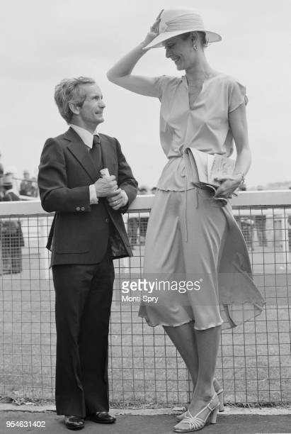American jockey William 'Bill' Shoemaker with his wife Cindy at Epsom before taking second place in the Derby stakes 7th June 1978