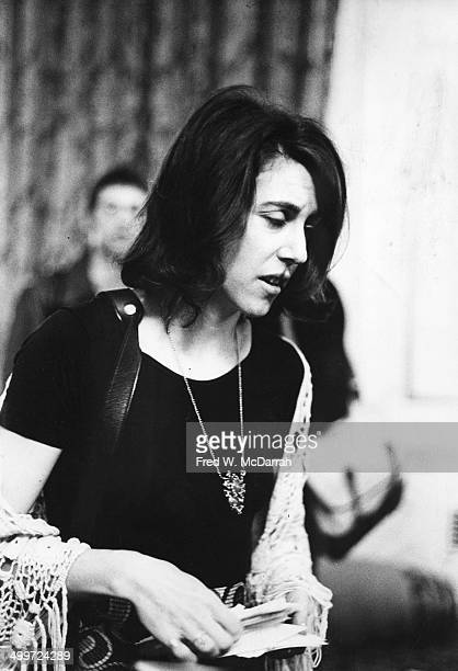 American journalist and author Nora Ephron attends the AJ Liebling CounterConvention New York New York May 10 1974 The convention named after noted...