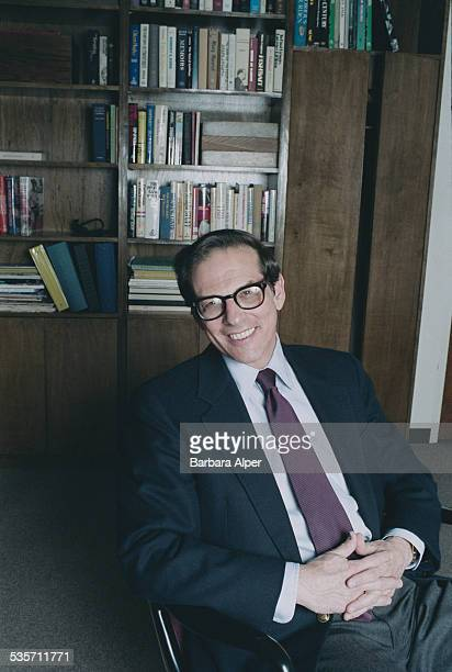 American journalist and author Robert Caro New York 1st March 1990