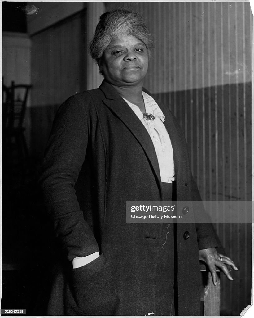 Portrait of Ida B. Wells : News Photo
