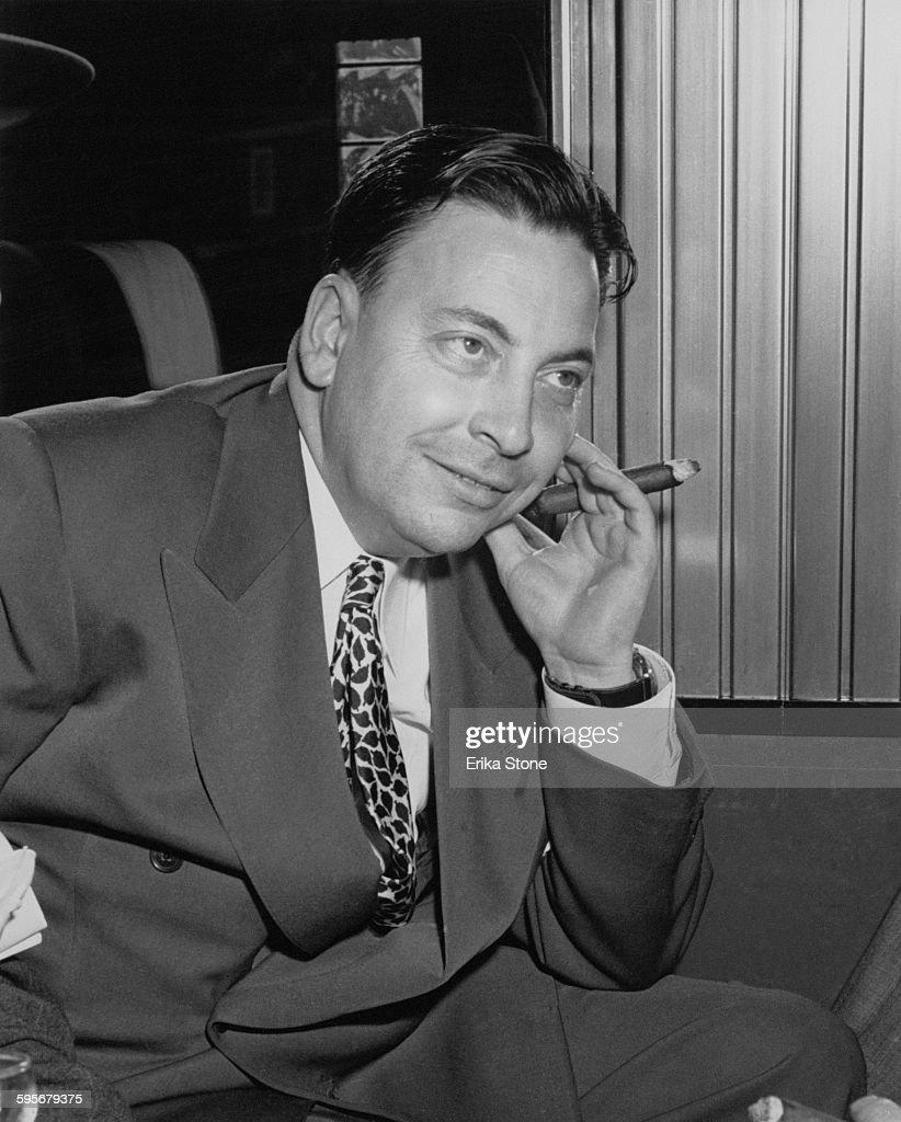 American journalist and gossip columnist Earl Wilson , circa 1955 ...