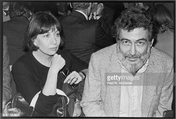 American journalist and music critic Nat Hentoff and his wife author Margot Hentoff attend a 'roast' for fellow Village Voice writer Jack Newfield at...