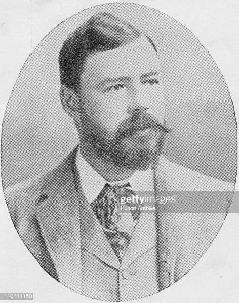 American journalist and novelist Harold Frederic circa 1890 Photograph by Russell and Son