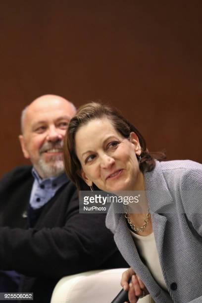 American journalist and Pulitzer Prizewinning author Anne Applebaum and Polish journalist former correspondent of Gazeta Wyborcza in Russia expelled...