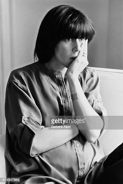 American journalist, screenwriter, novelist, producer, and director, Nora Ephron , Boston, USA, 5th May 1978.