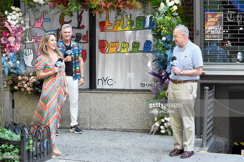 New York City Marks 50th Anniversary Of First Pride March : News Photo