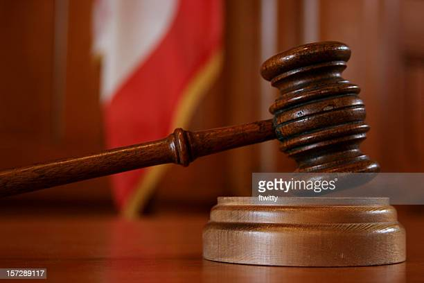 american justice symbol in court - gavel stock pictures, royalty-free photos & images