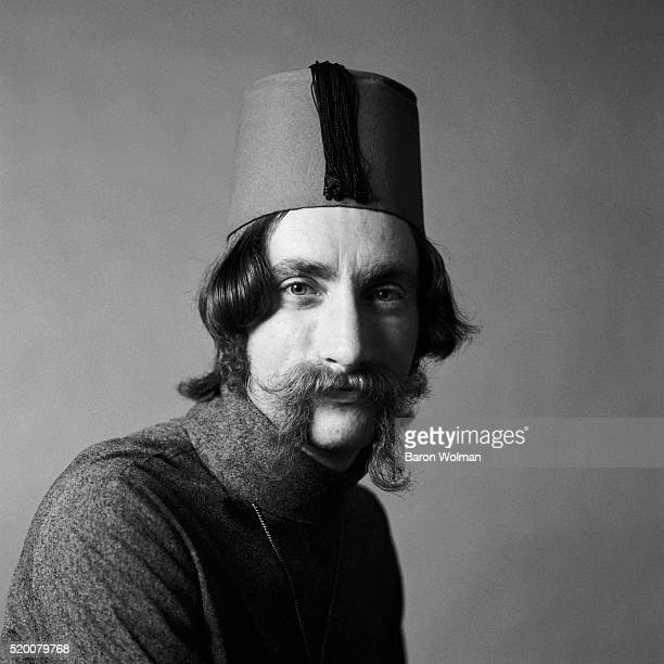 American keyboardist Tom Constanten is best known for playing with the Grateful Dead from 1968 to 1970 Belvedere St Studio San Francisco CA July 1969