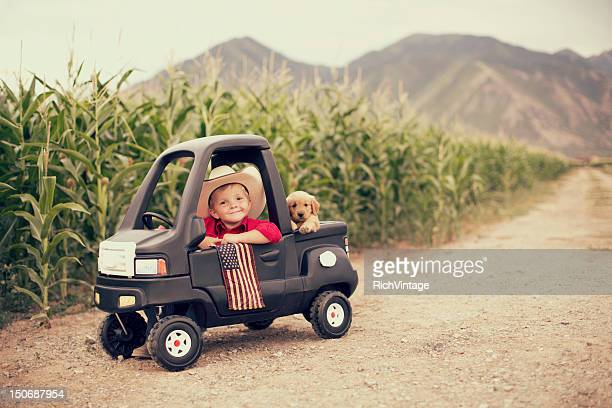 american kid - independence day stock pictures, royalty-free photos & images