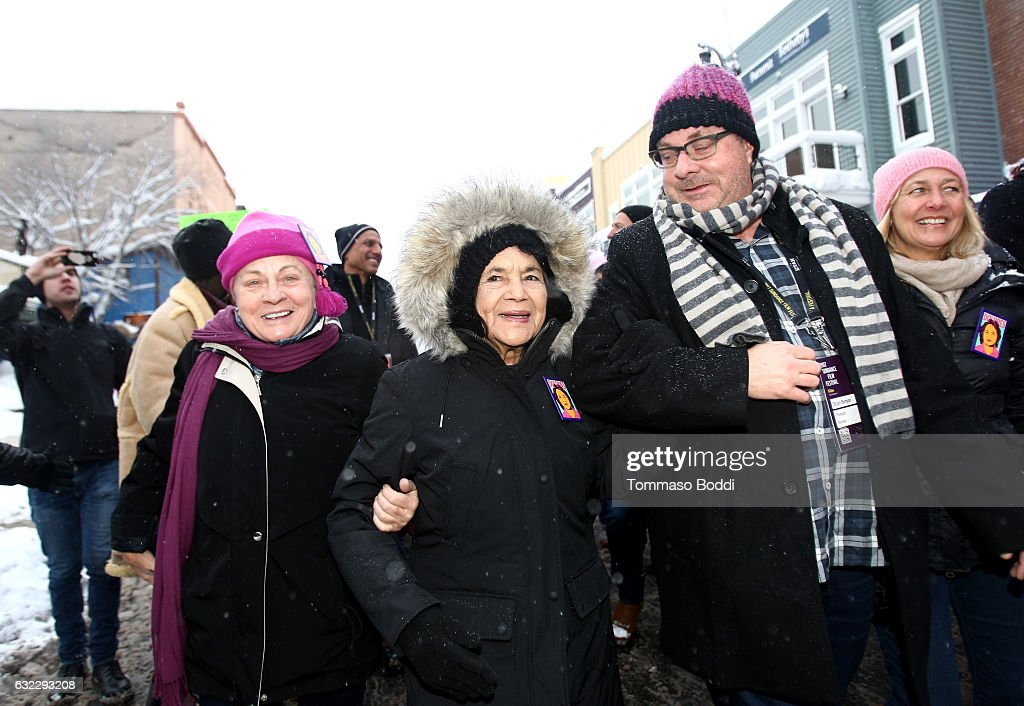 The IMDb Studio Covers The Women's March On Main At The 2017 Sundance Film Festival - 2017 Park City