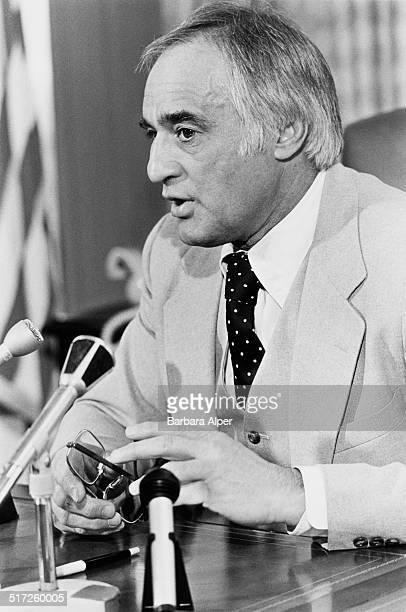 American lawyer and politician Francis Xavier Bellotti Boston Massachusetts 13th March 1978