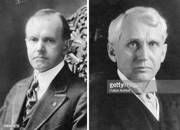 American lawyer and politician Frank B Kellogg circa 1911