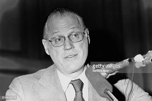 American lawyer sports administrator and Commissioner of Major League Baseball Bowie Kuhn Boston USA 5th May 1978