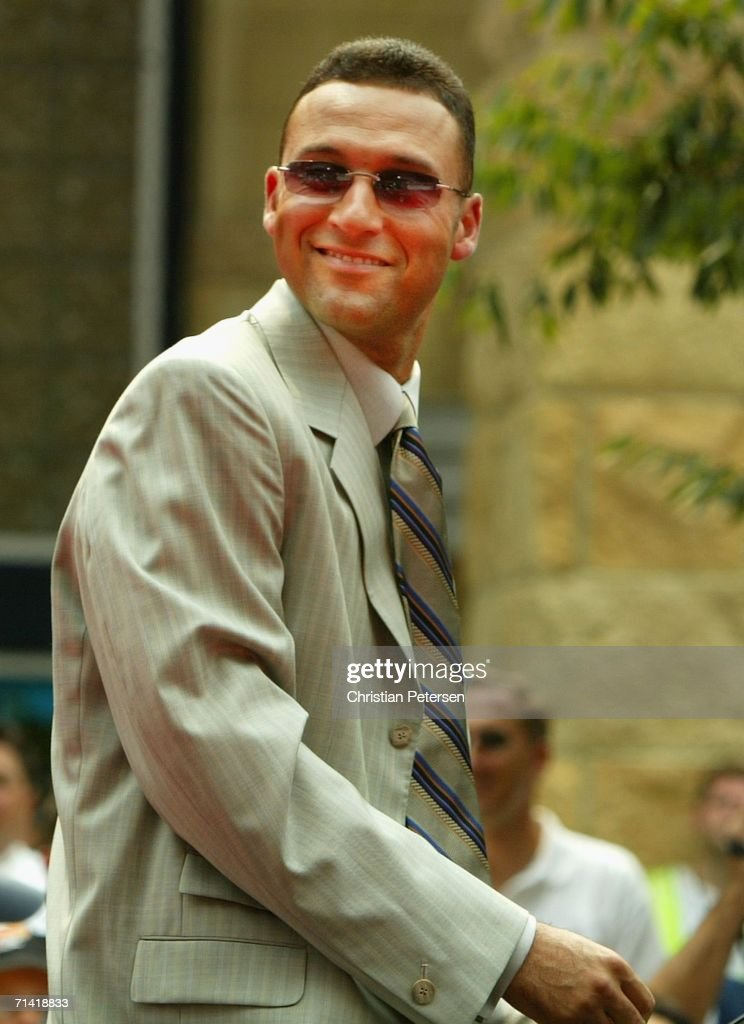 2006 MLB All- Star Red Carpet Arrivals : News Photo