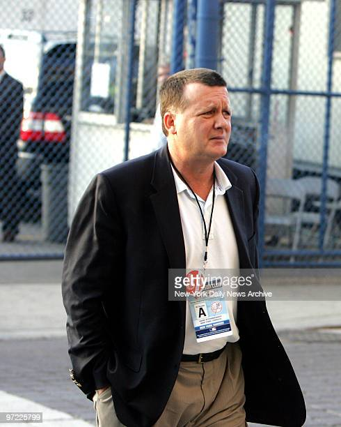 American League Division Series New York Yankees vs Cleveland Indians at Yankee Stadium GAME3 Hank Steinbrenner