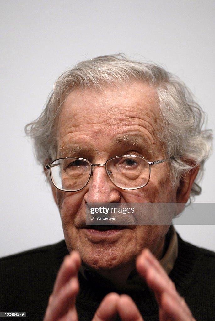 PARIS, FRANCE - MAY 30. American linguist and political activist Noam Chomsky after public conference held on may 30, 2010 in Paris, France.