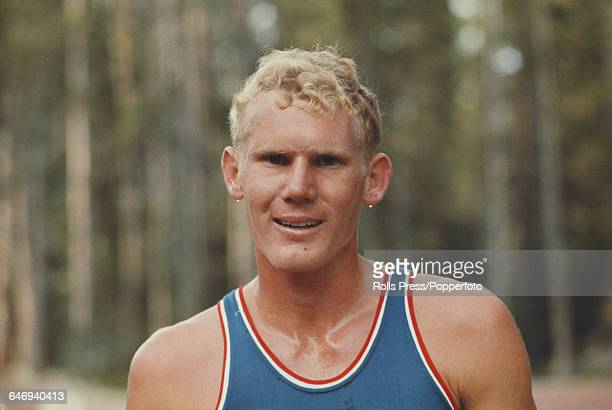 American long distance runner Tracy Smith pictured attending the United States Olympic Trials at Echo Summit in California in September 1968 Smith...