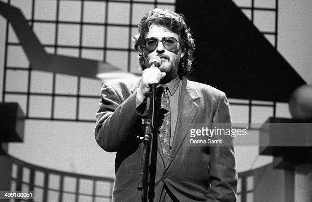 American lyricist Gerry Goffin on stage at a Songwriters' Academy event at the Wiltern Theatre Los Angeles California December 1988