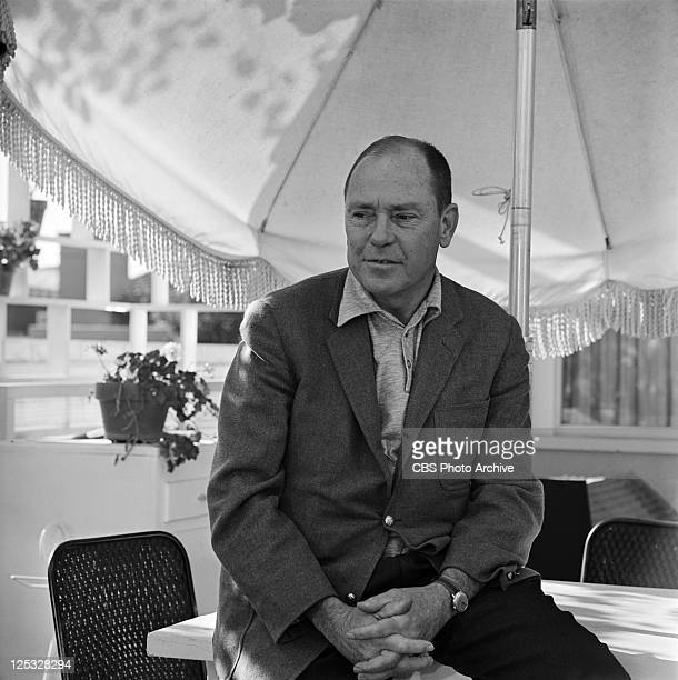 American lyricist Johnny Mercer on PERSON TO PERSON Image dated December 7 1960
