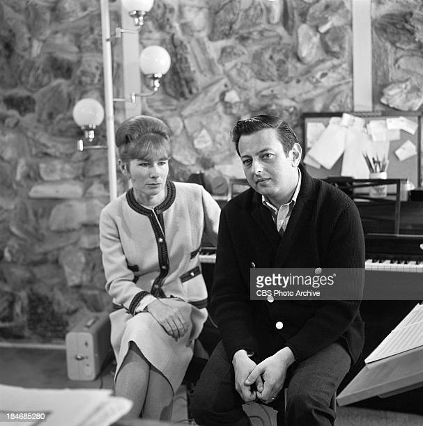 American Lyricist singersongwriter and poet Dory Previn and GermanAmerican pianist Andre Previn on THE TWENTIETH CENTURY Episode called The Songs of...