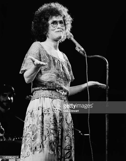 American lyricist singersongwriter and poet Dory Previn circa 1975