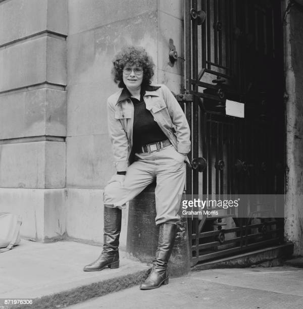 American lyricist singersongwriter and poet Dory Previn London UK 18th May 1977