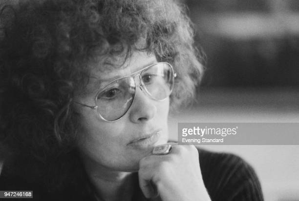 American lyricist singersongwriter and poet Dory Previn UK 18th May 1977