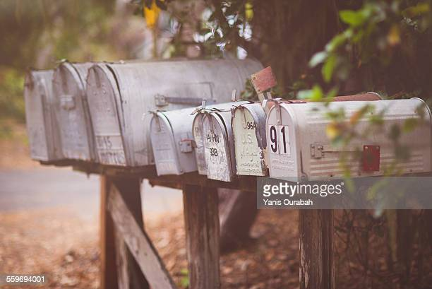 american mailbox - domestic mailbox stock pictures, royalty-free photos & images