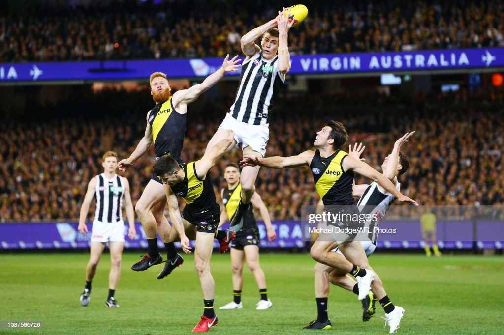 AFL Preliminary Final - Richmond v Collingwood : News Photo