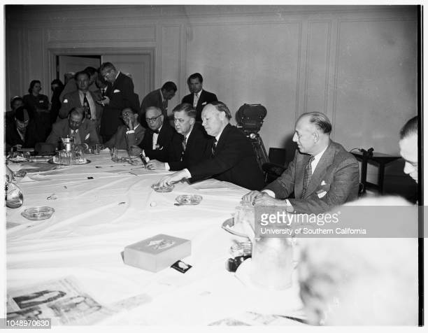 American Medical Association conventioninterview with Doctor of the Year 5 December 1951 Doctor AC YoderSenator Robert A TaftDoctor Elmer...