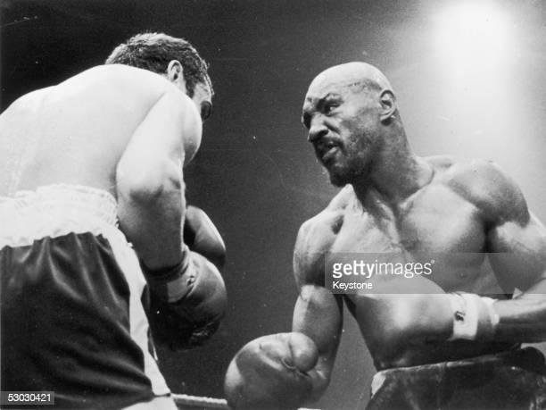 Marvin Hagler v Alan Minter 1980 Boxing Photo Memorabilia