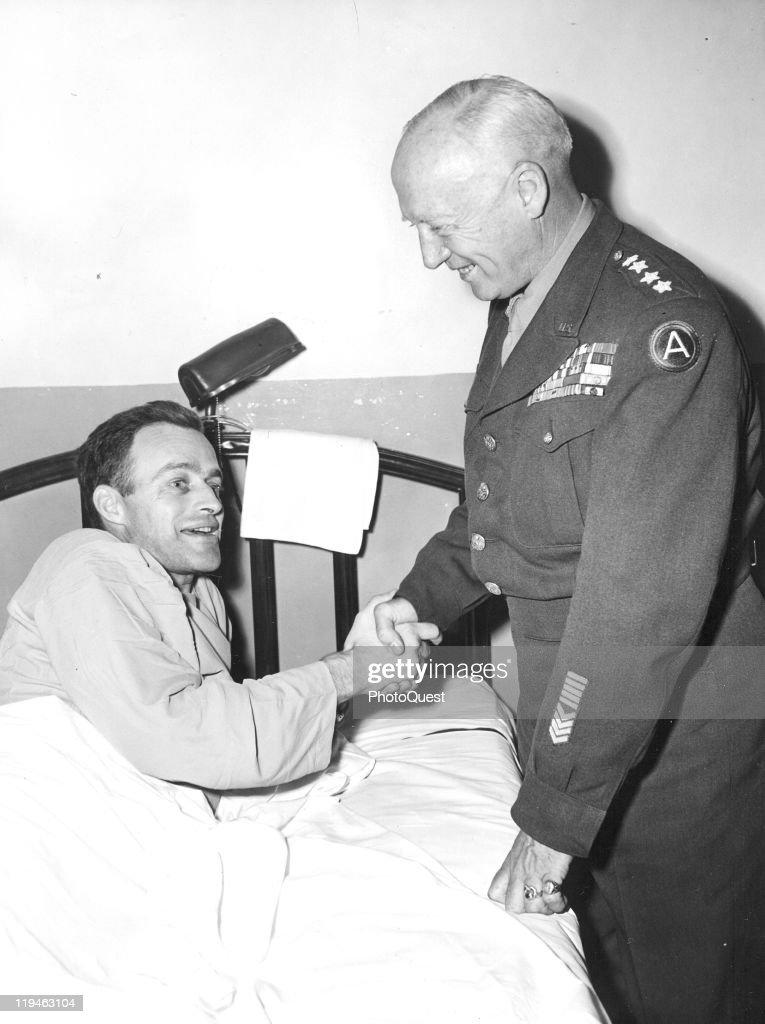Patton & His Son-In-Law : News Photo