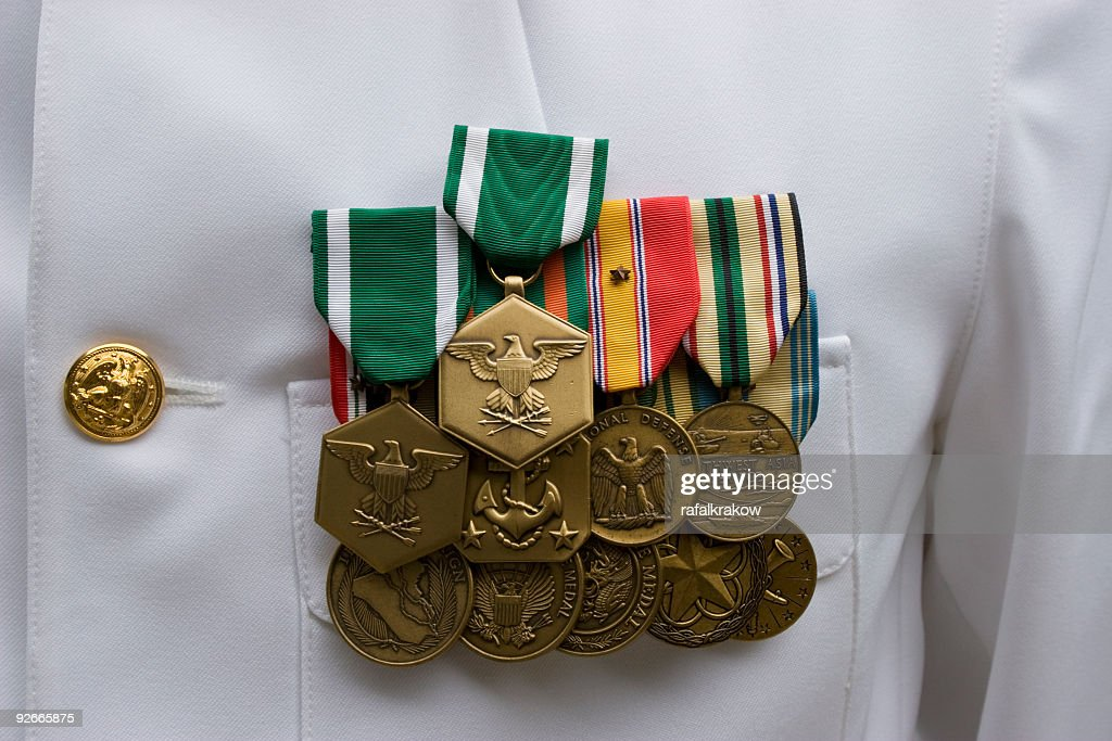 American Military Medals : Stock Photo