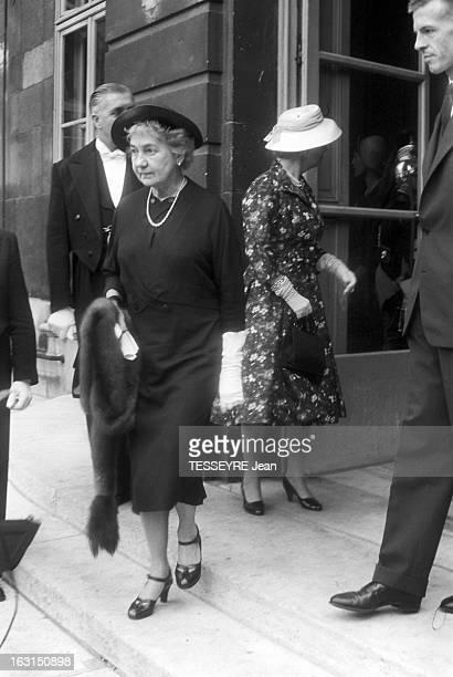 American Minister Of Foreign Affairs John Foster Dulles To Visit Paris En juillet 1958 dans le cadre d'une visite officielle à Paris du ministre des...