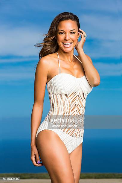 American model and actress Eva La Rue is photographed for First For Women on May 20 2016 in Malibu California COVER IMAGE