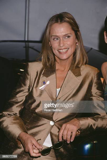 American model and actress Lauren Hutton attends a party for People Magazine's '50 Most Beautiful People' issue circa 1998