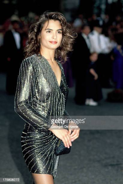 American model and actress Talisa Soto in 1990 ca in London England