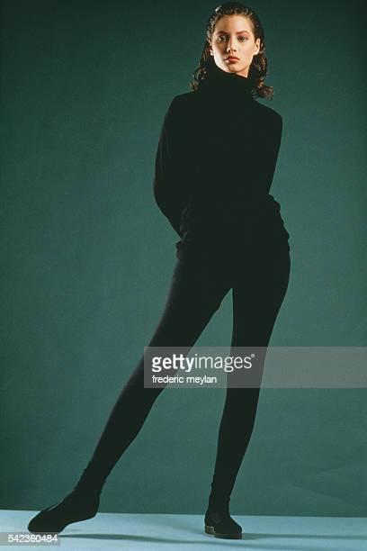 American Model Christy Turlington