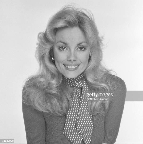 American model Dian Parkinson poses in a publicity portrait for the CBS game show 'The Price is Right' Los Angeles California March 19 1976