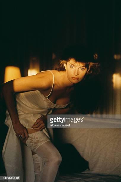 American model Joan Severance