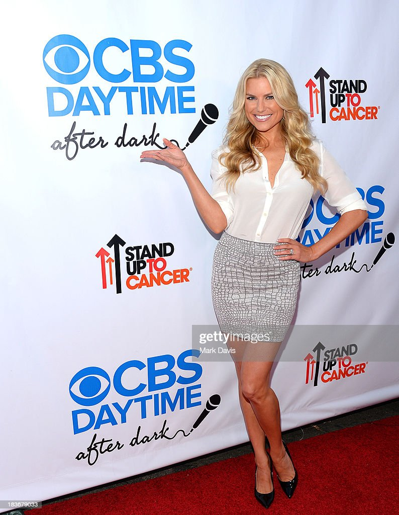 American model Rachel Reynolds attends 'CBS Daytime After Dark' at The Comedy Store on October 8, 2013 in West Hollywood, California.
