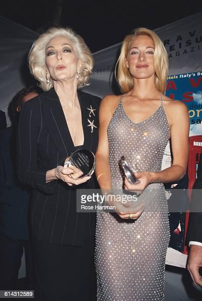 American Models Carmen Dell Orefice And Elaine Irwin
